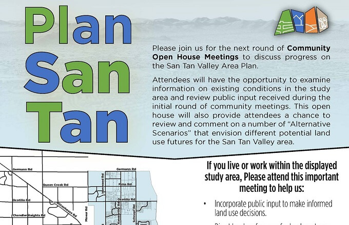 Plan San Tan Meetings This Week