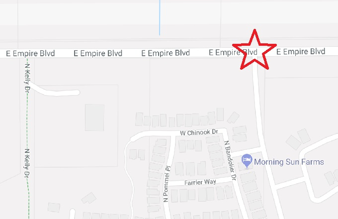 New Traffic Signal coming to Empire and Village Lane